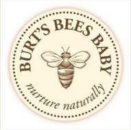 BURT'S BEES BABY NURTURE NATURALLY