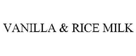 VANILLA & RICE MILK