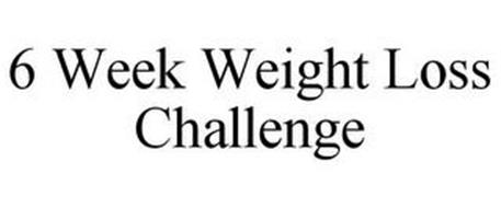 6 WEEK WEIGHT LOSS CHALLENGE