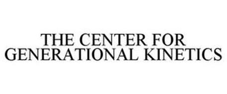 THE CENTER FOR GENERATIONAL KINETICS