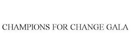 CHAMPIONS FOR CHANGE GALA