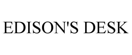 EDISON'S DESK