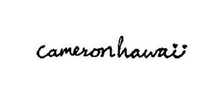 CAMERON HAWAII