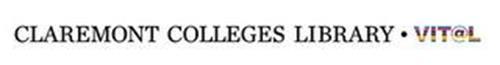 CLAREMONT COLLEGES LIBRARY · VIT@L