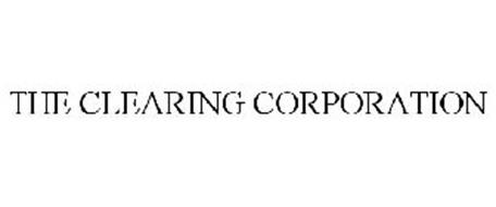 THE CLEARING CORPORATION