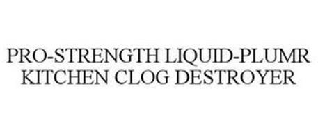 PRO-STRENGTH LIQUID-PLUMR KITCHEN CLOG DESTROYER