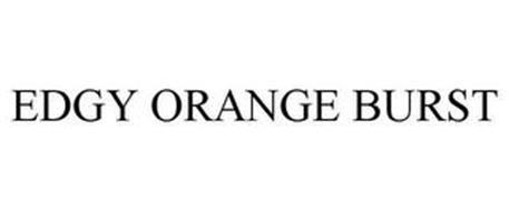 EDGY ORANGE BURST
