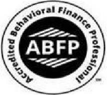 ABFP ACCREDITED BEHAVIORAL FINANCE PROFESSIONAL