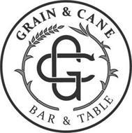 GC GRAIN & CANE BAR & TABLE