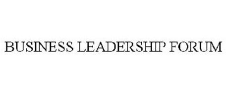 BUSINESS LEADERSHIP FORUM