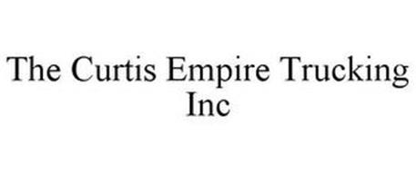 THE CURTIS EMPIRE TRUCKING INC