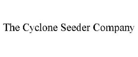 THE CYCLONE SEEDER COMPANY