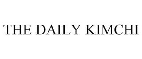 THE DAILY KIMCHI