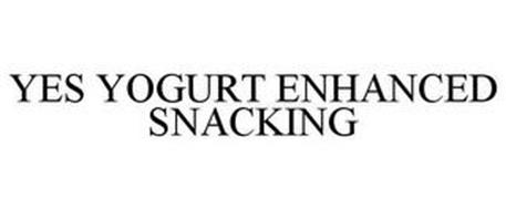 YES YOGURT ENHANCED SNACKING