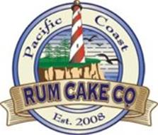 PACIFIC COAST RUM CAKE COMPANY EST. 2008