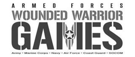 ARMED FORCES WOUNDED WARRIOR GAMES ARMY · MARINE CORPS · NAVY ·AIR FORCE · COAST GUARD · SOCOM