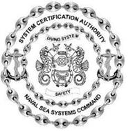 SYSTEM CERTIFICATION AUTHORITY DIVING SYSTEM SAFETY NAVAL SEA SYSTEMS COMMAND