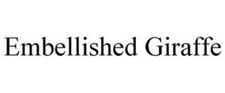 EMBELLISHED GIRAFFE