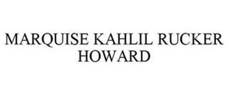 MARQUISE KAHLIL RUCKER HOWARD