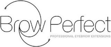BROW PERFECT PROFESSIONAL EYEBROW EXTENSIONS