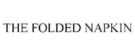 THE FOLDED NAPKIN
