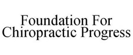 FOUNDATION FOR CHIROPRACTIC PROGRESS