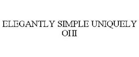 ELEGANTLY SIMPLE UNIQUELY OHI