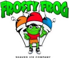 THE FROSTY FROG SHAVED ICE COMPANY