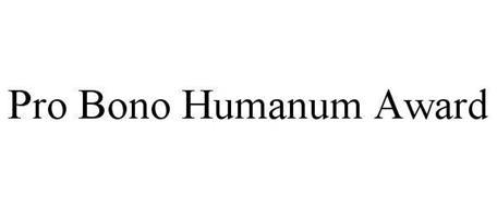 PRO BONO HUMANUM AWARD