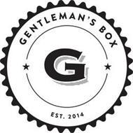 GENTLEMAN'S BOX, G, EST. 2014
