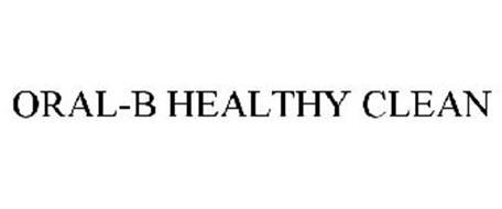 ORAL-B HEALTHY CLEAN