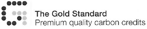 THE GOLD STANDARD PREMIUM QUALITY CARBON CREDITS G