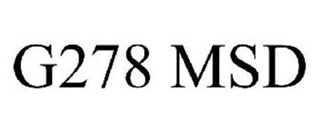 G278 MSD