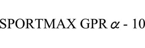 SPORTMAX GPR - 10