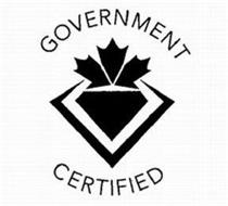 GOVERNMENT CERTIFIED
