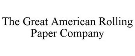THE GREAT AMERICAN ROLLING PAPER COMPANY