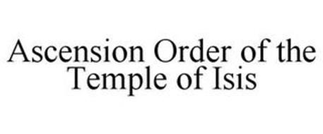 ASCENSION ORDER OF THE TEMPLE OF ISIS