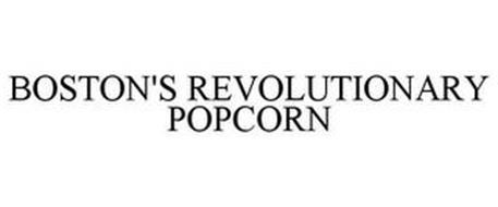BOSTON'S REVOLUTIONARY POPCORN