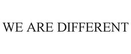 WE ARE DIFFERENT