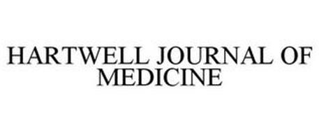 HARTWELL JOURNAL OF MEDICINE