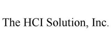 THE HCI SOLUTION, INC.