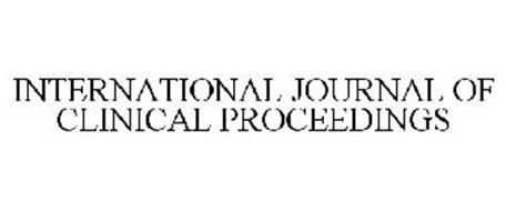 INTERNATIONAL JOURNAL OF CLINICAL PROCEEDINGS