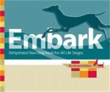 EMBARK DEHYDRATED RAW DOG FOOD FOR ALL LIFE STAGES THE HONEST KITCHEN MADE WITH TURKEY, VEGETABLES AND FRUITS. GRAIN-FREE.