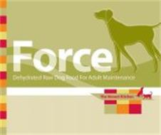 FORCE DEHYDRATED RAW DOG FOOD FOR ADULT MAINTENANCE THE HONEST KITCHEN MADE WITH CHICKEN, VEGETABLES AND FRUITS. GRAIN-FREE.