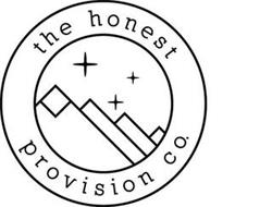 THE HONEST PROVISION CO.