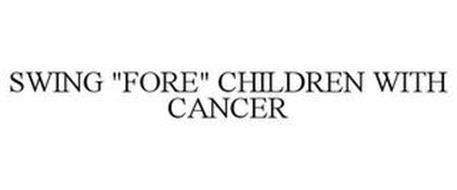 "SWING ""FORE"" CHILDREN WITH CANCER"