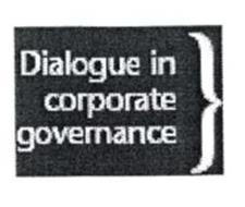 DIALOGUE IN CORPORATE GOVERNANCE)