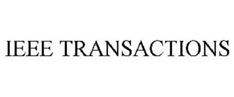 IEEE TRANSACTIONS