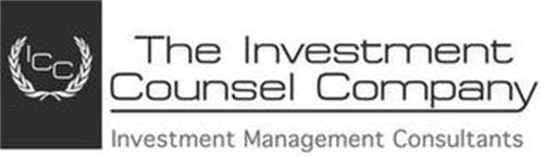ICC THE INVESTMENT COUNSEL COMPANY INVESTMENT MANAGEMENT CONSULTANTS