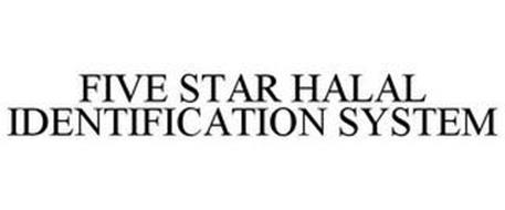 FIVE STAR HALAL IDENTIFICATION SYSTEM